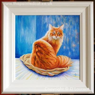 A New Maine Coon Painting