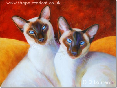 A New Siamese Painting – Chocolate Drops