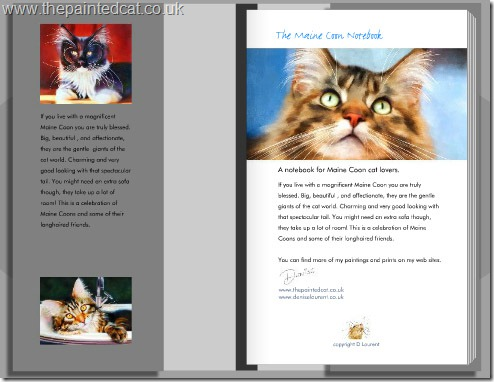 The Maine Coon Cat Notebook