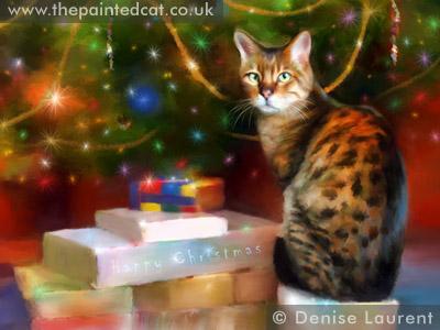 Bengal Gifts Christmas Card