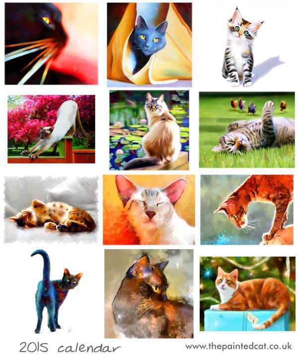 2015 Cat Calendar – Sold Out