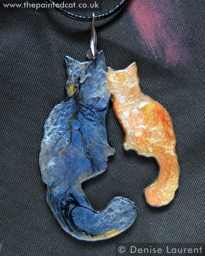 Necklace – Blue And Tyzer Maine Coon Necklace