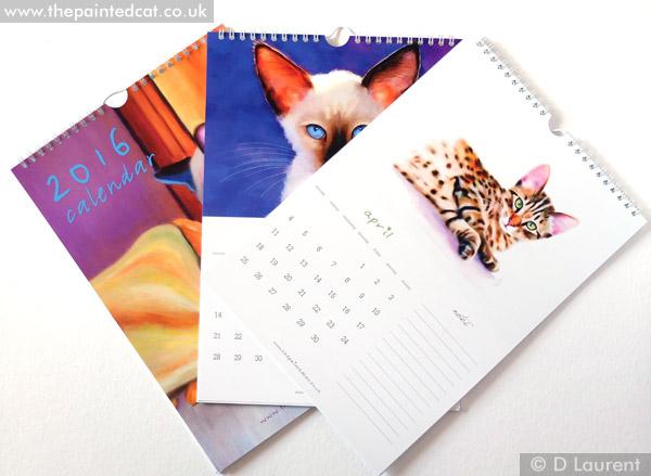 2016 Painted Cat Calendar