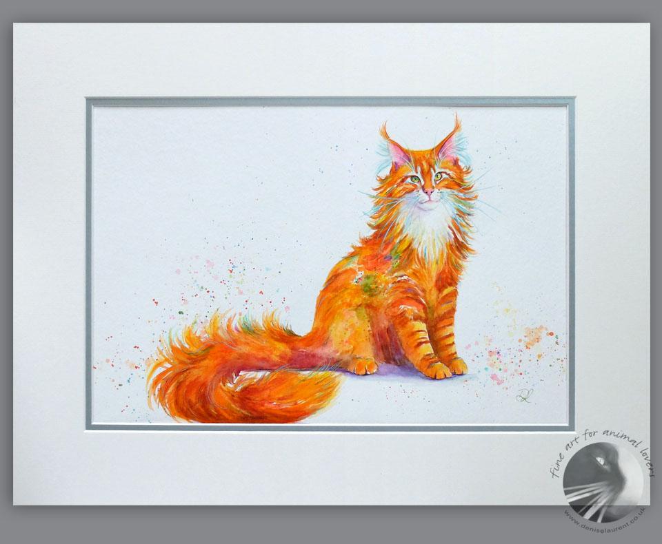 Ginger Nut 18×14 Acrylic Painting